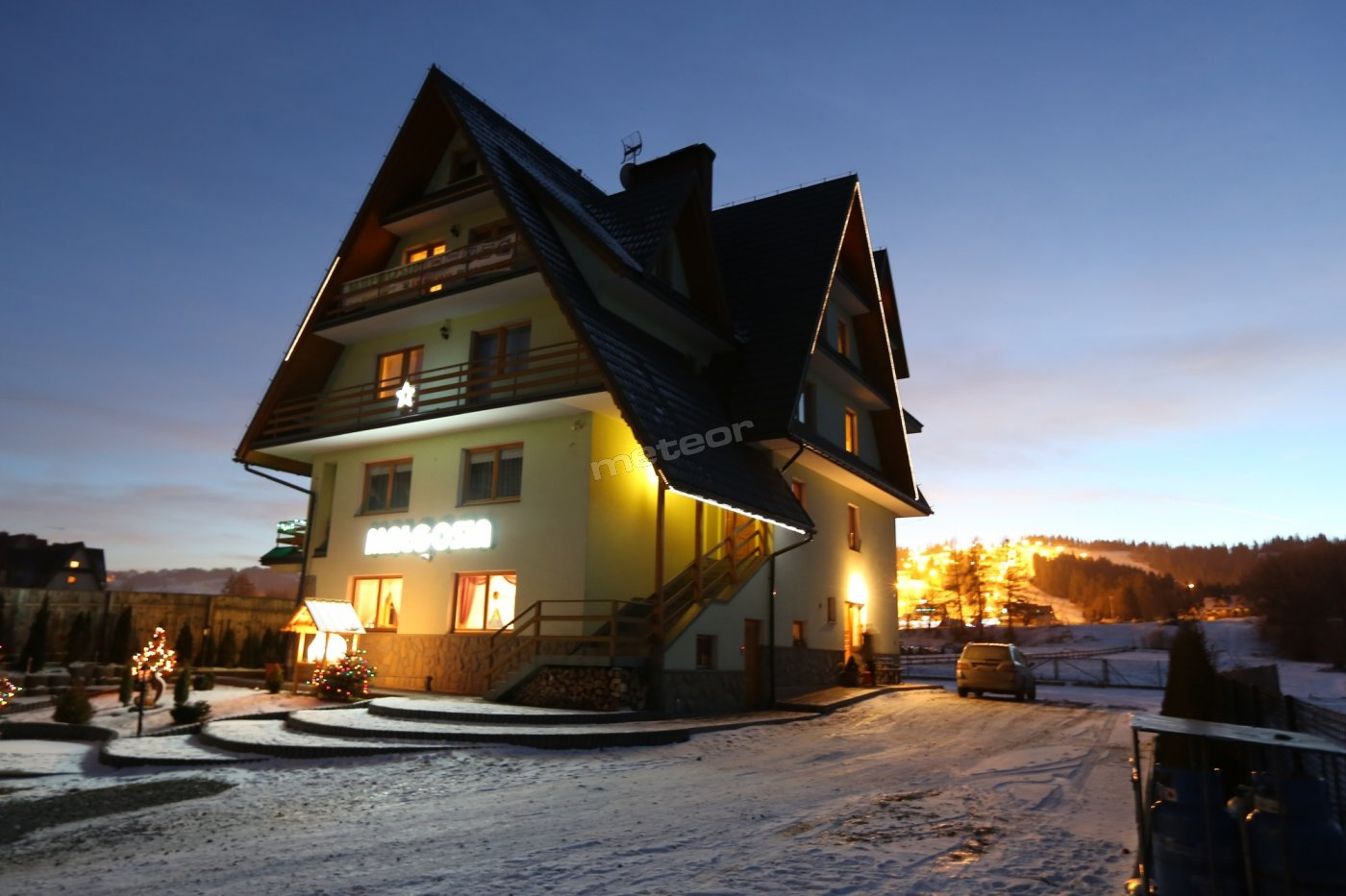 Dom Małgosia wieczorową porą :-)