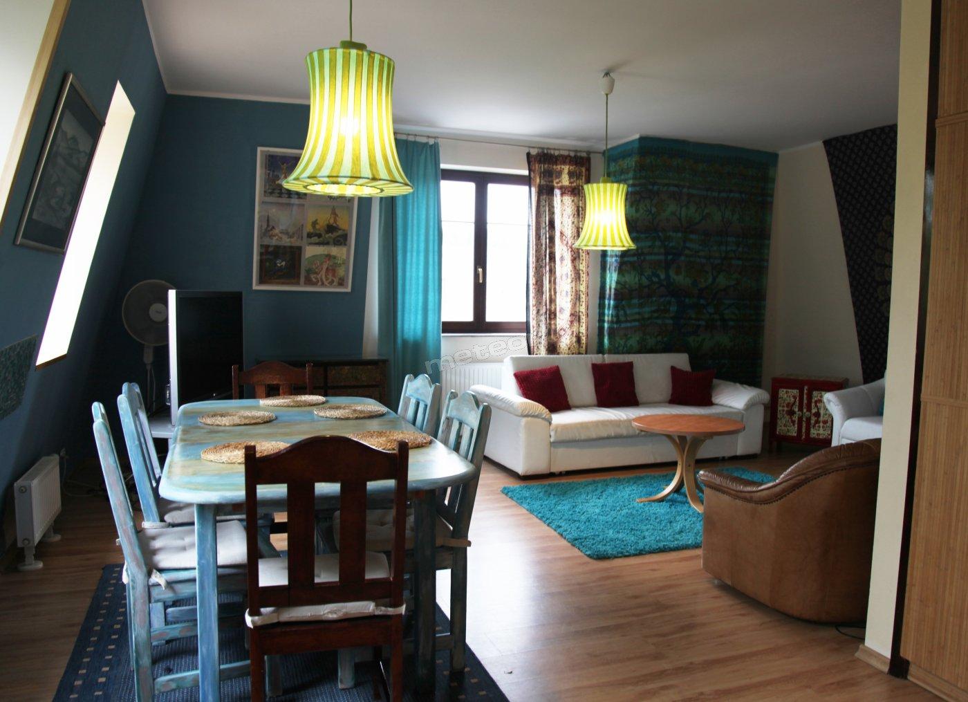 jadalnia - salon - Apartament Rodzinny