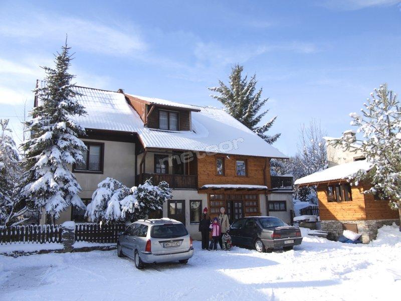 Zimowy domek agroturystyka_góry_świętokrzyskie