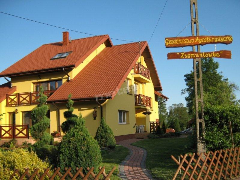 Landtouristik Zygmuntówka - Liwiec - Kajaki