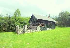Domek nad jeziorem Łabędź