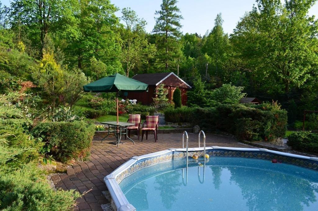 Domek 4 osobowy z basenem