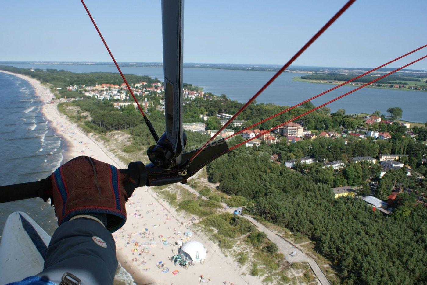 pomiędzy Bałtykiem a jeziorem Jamno