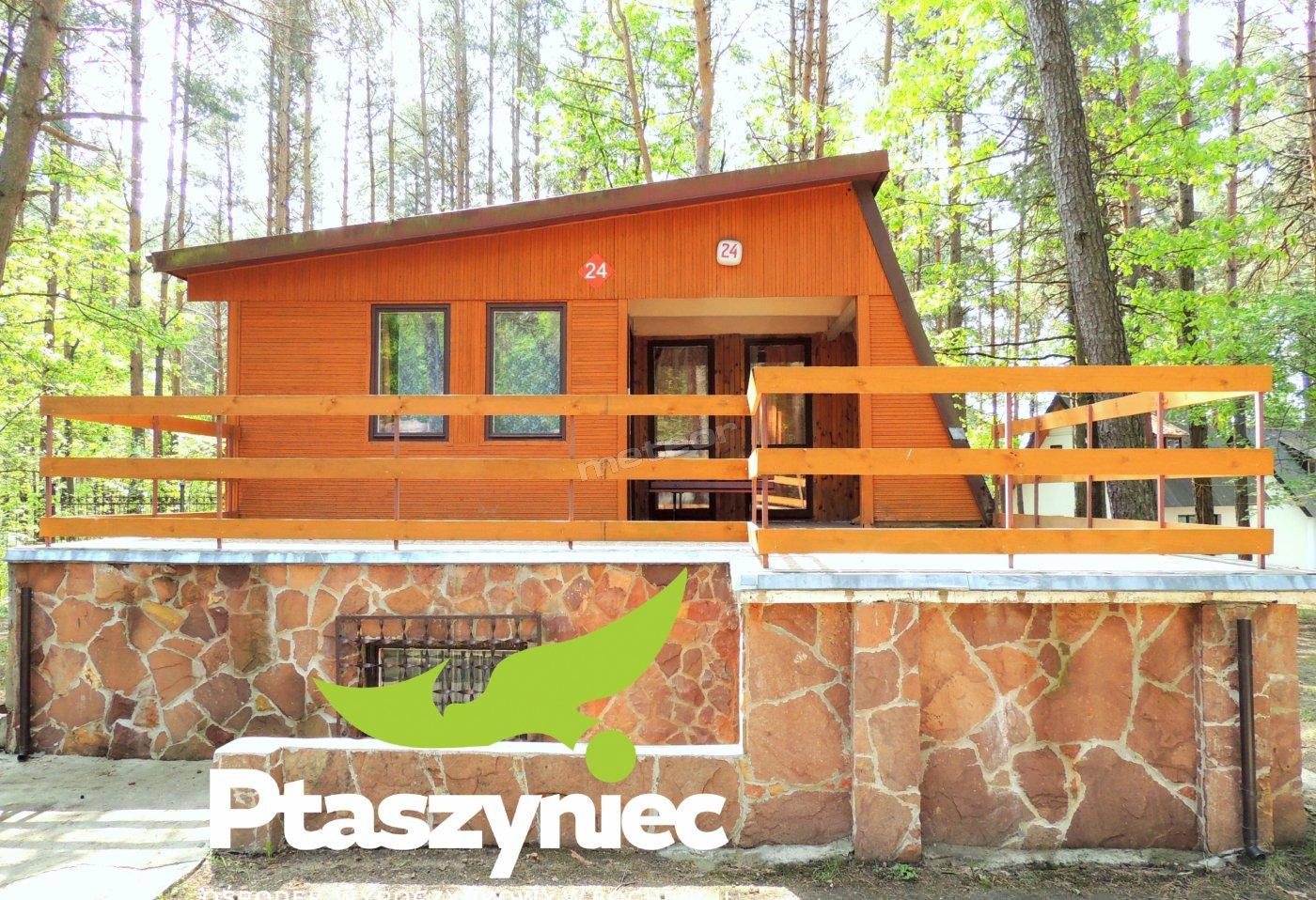 Domek drewniany Bieszczada.