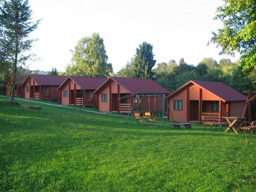 Domki dwupokojowe