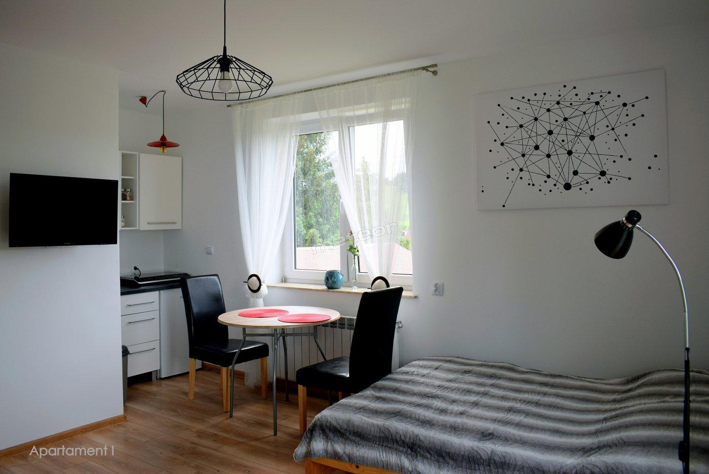 Apartament dwuosobowy z możliwością dostawki.