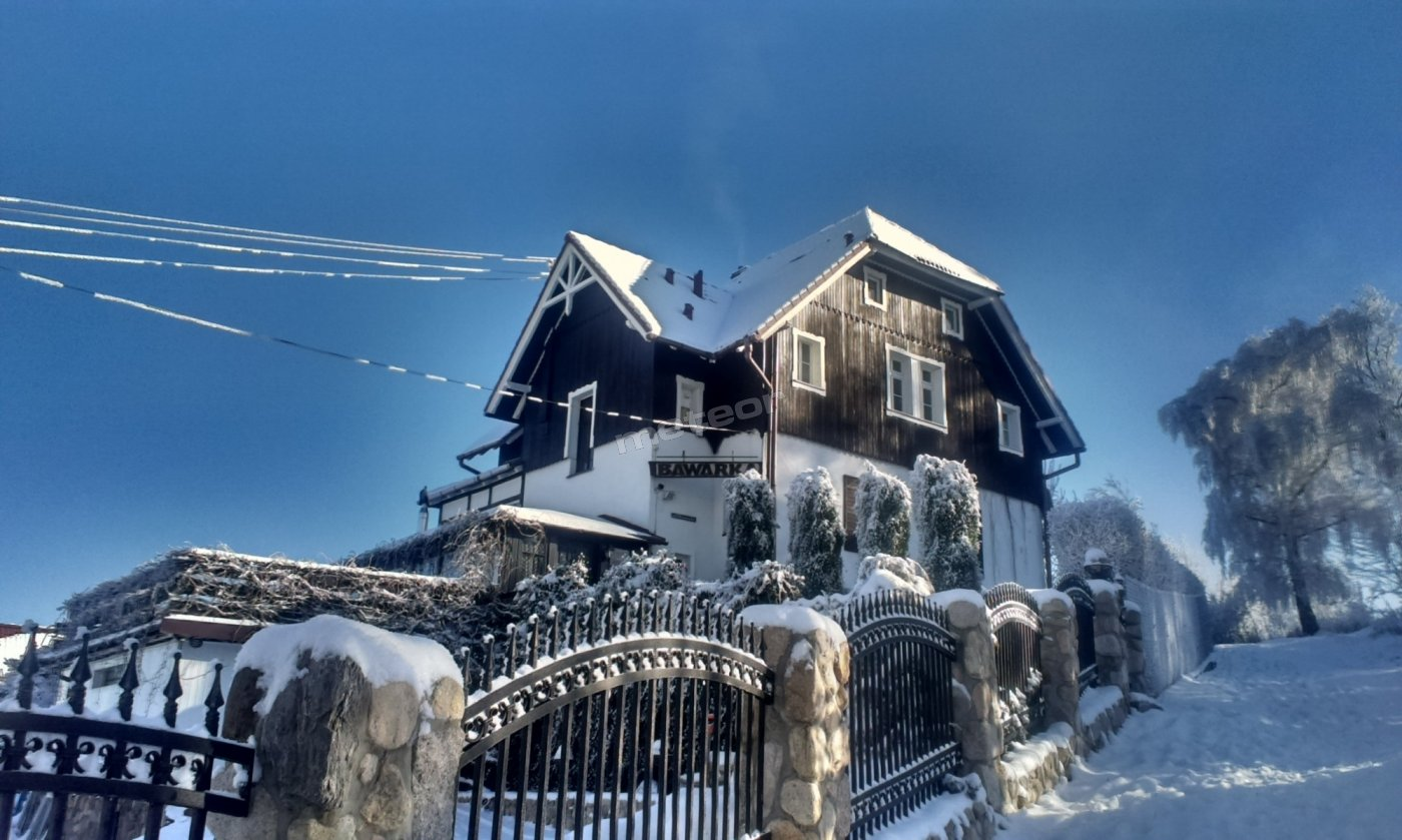 Willa Bawarka zimą