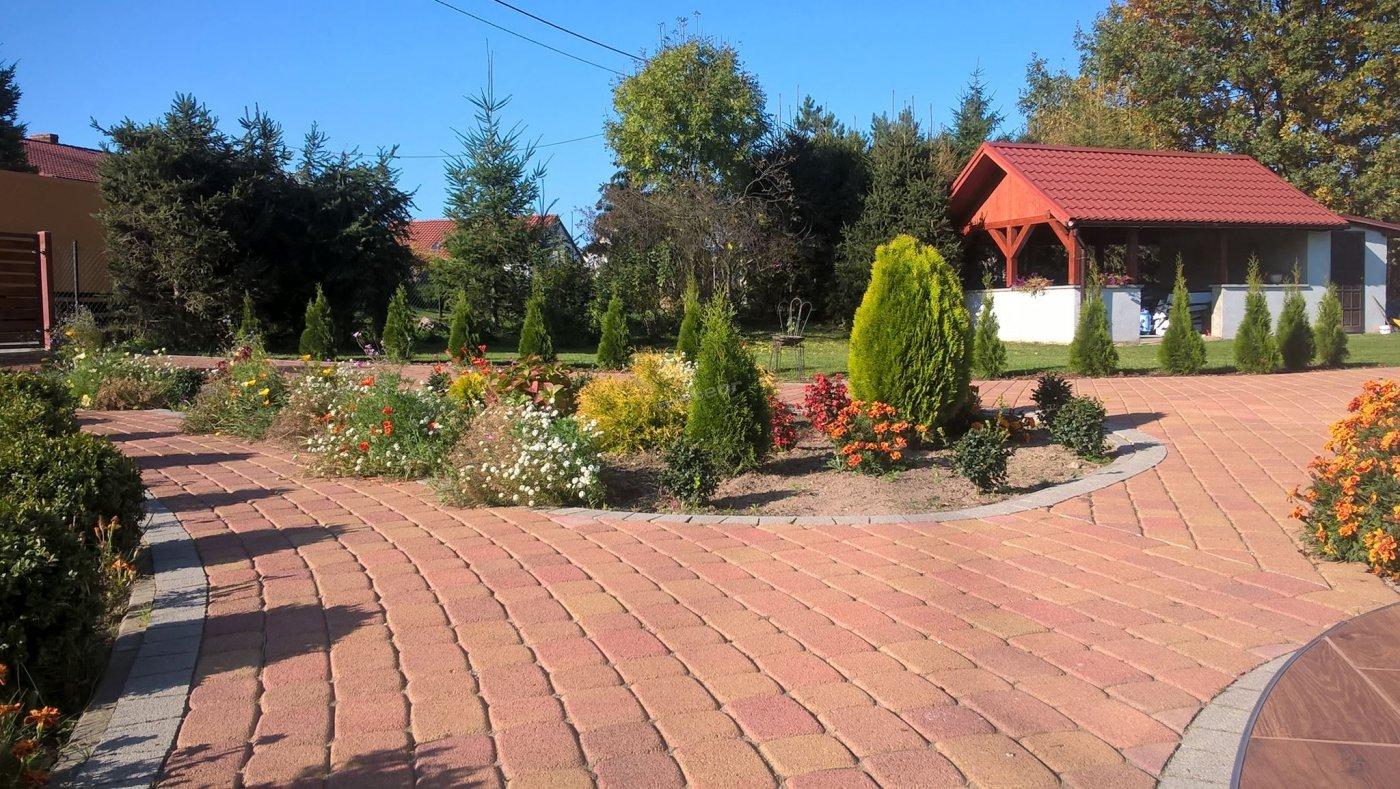 Widok na nasz cudowny ogród i altanę