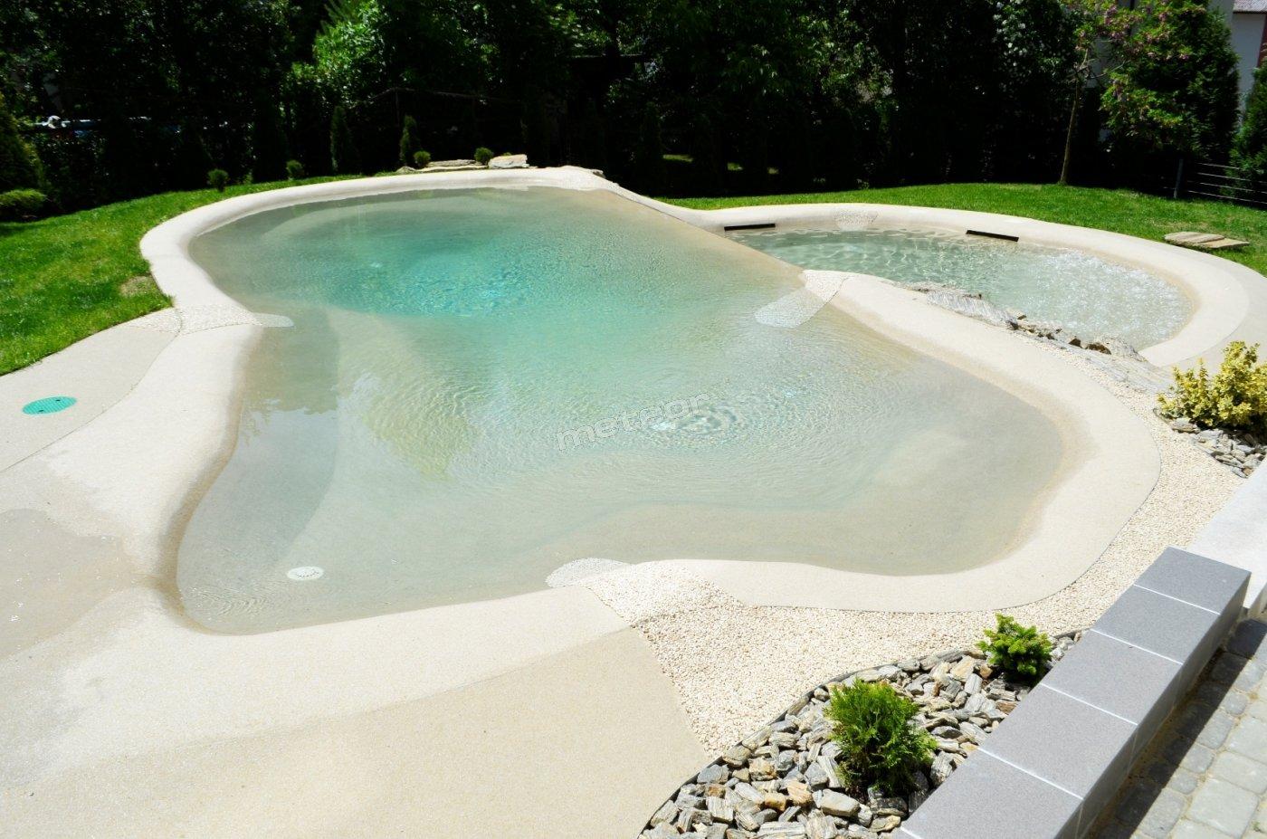 Kompleks basenowy - basen mały (60cm), basen duży (140cm)