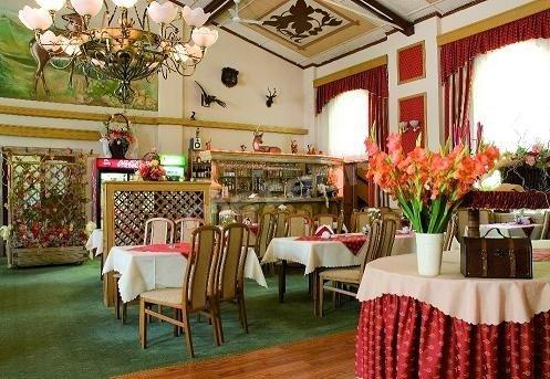 Doskonała polska i europejska kuchnia w połączeniu z eleganckim wystrojem oraz wspaniałą atmosferą sali restauracyjnej, usatysfakcjonuje nawet najbardziej wybredne podniebienia.