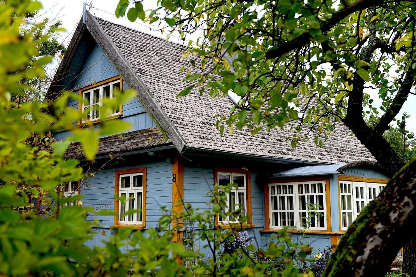 Dom na Rykowisku - lato