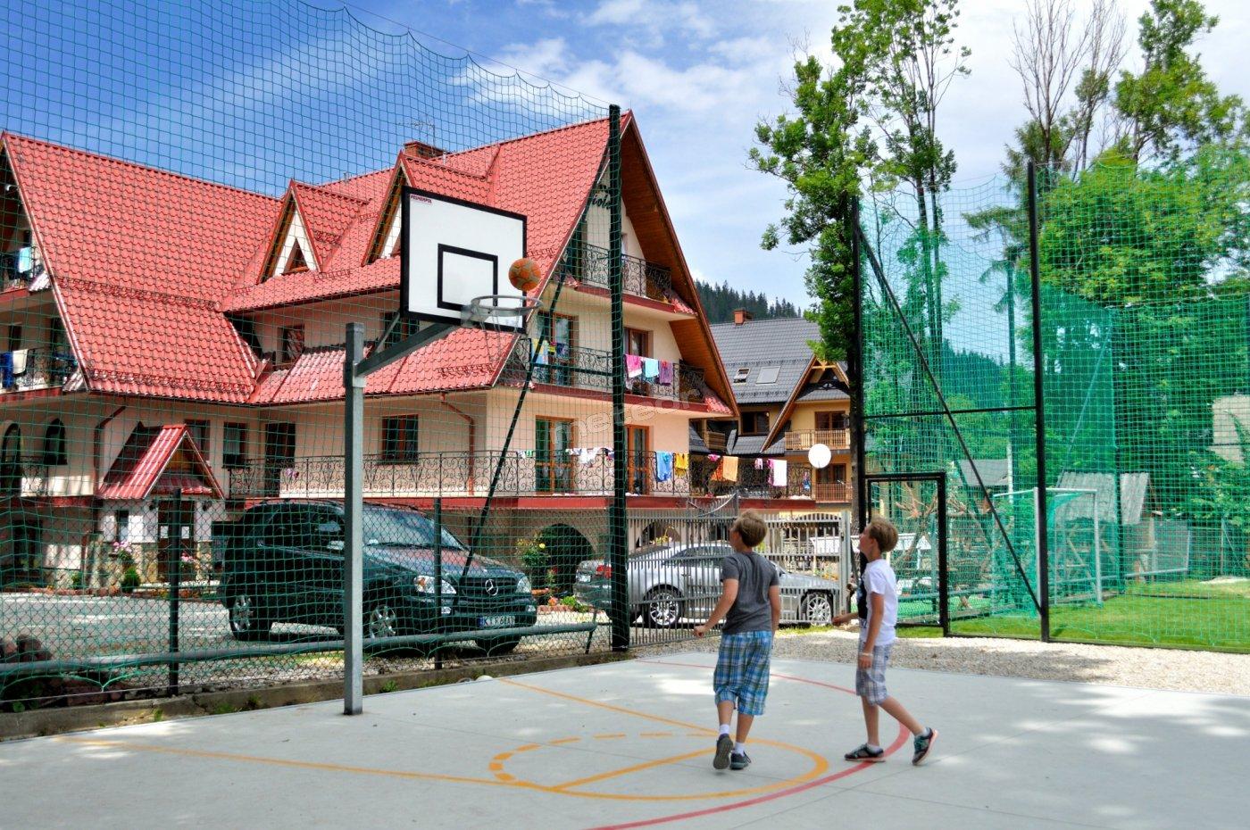 Ośrodek ,Boisko