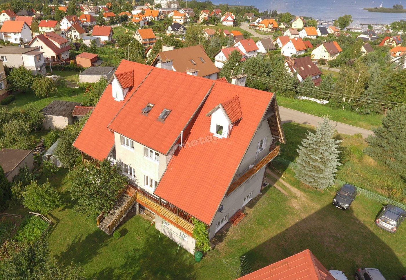 Dom nad Jeziorem-elewacja południowo-zachodnia