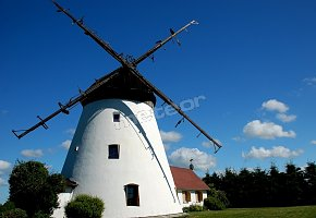 Windmill vacation home in Ledzin near Baltic Sea