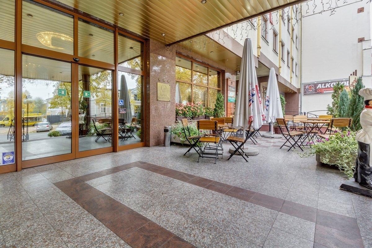 Hotel widok od frontu