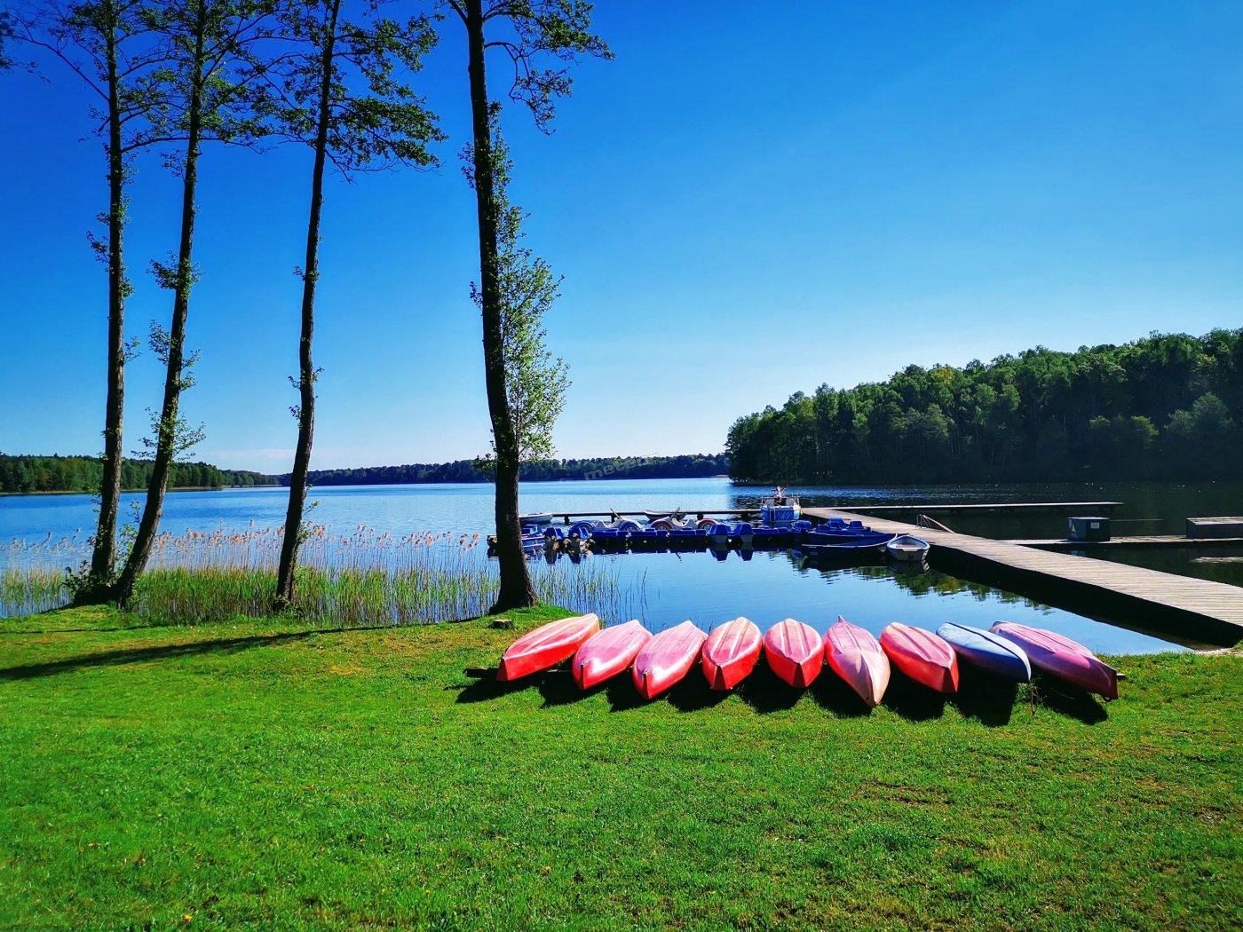 Ośrodek nad jeziorem Unimetal - Kujanki - nasza plaża i wypożyczalnia sprzętu do pływania