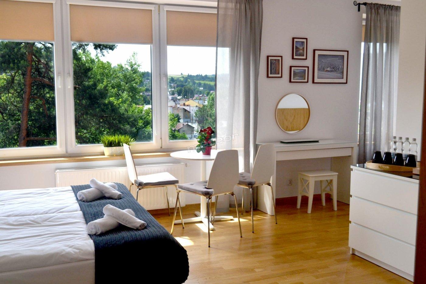 komfortowy pokój z widokiem