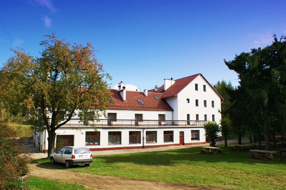 Budynek od strony boiska