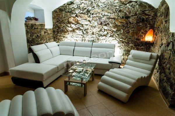 Sauna - pokój wypoczynkowy