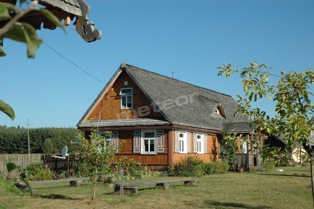 Tradycyjny podlaski dom