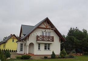 Biały i Żółty Domek w Męcikale