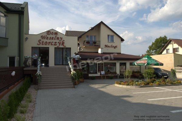 Restauracja, Noclegi, Dom Weselny Storczyk