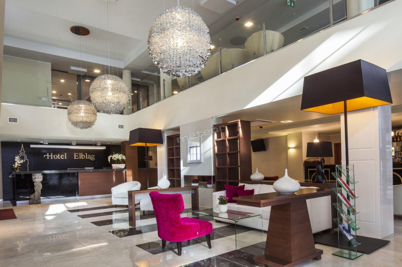 Lobby Hotelu Elbląg ****