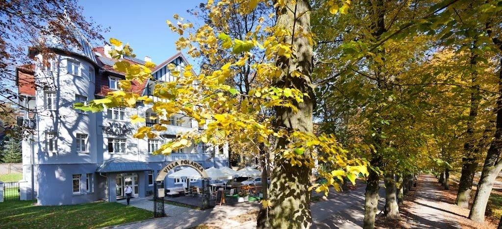 Villa Polanica jesień