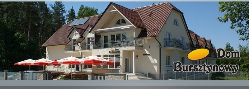 Dom bursztynowy z restauracja