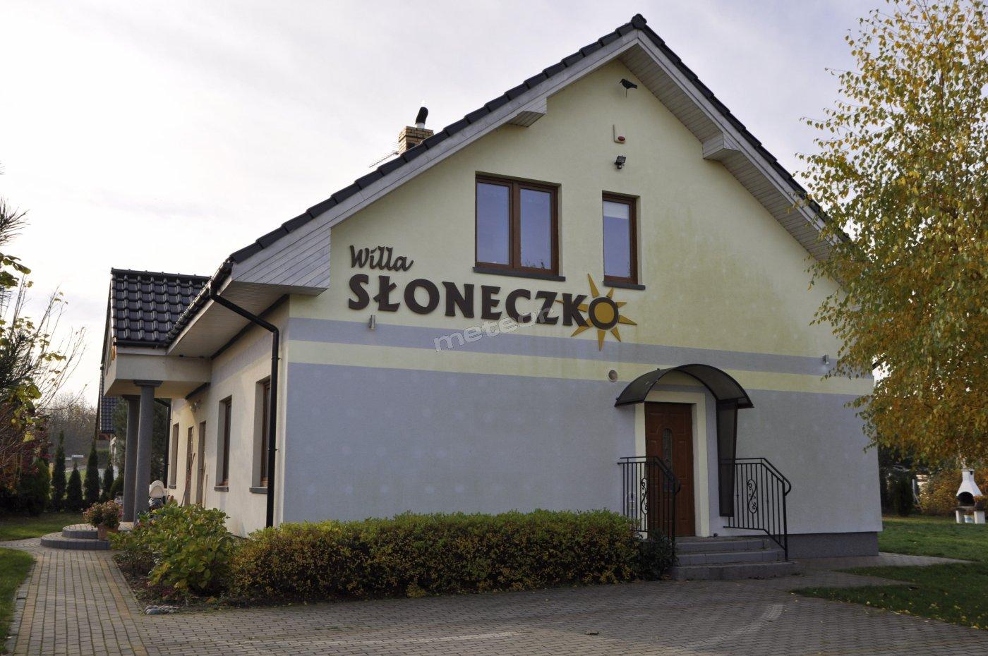 Willa Słoneczko, wejście na piętro do 6 pokoi dwuososbowych