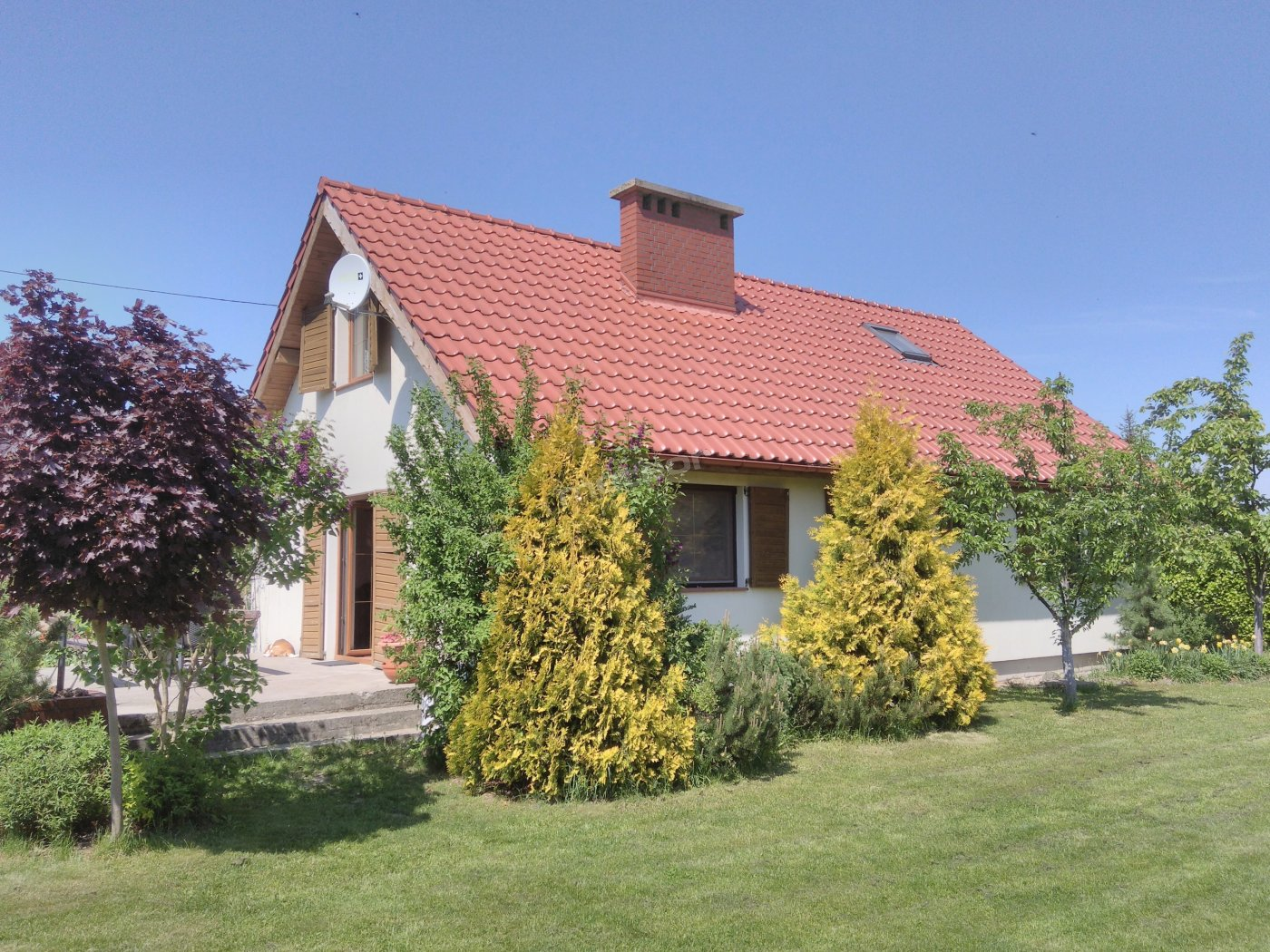Dom I Akacjowa 14 widok domu z maja 2017r.