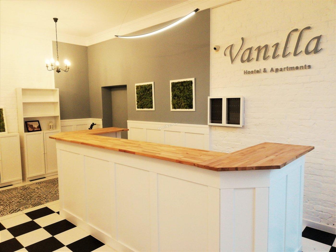 Vanilla Hostel Wrocław - recepcja