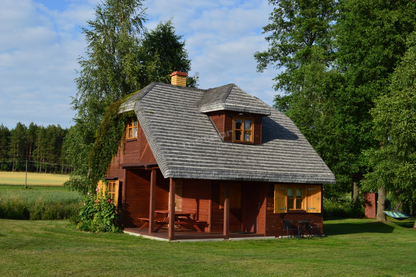 Duży domek
