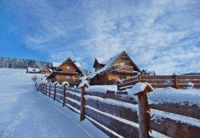 Luxdomki drewniane domki w górach