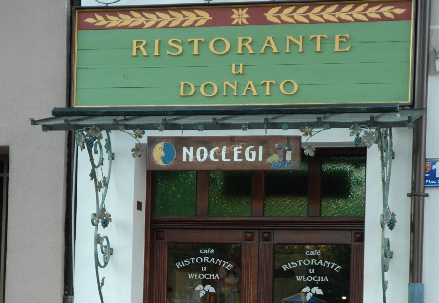 Apartamenty i Restauracja U Donato