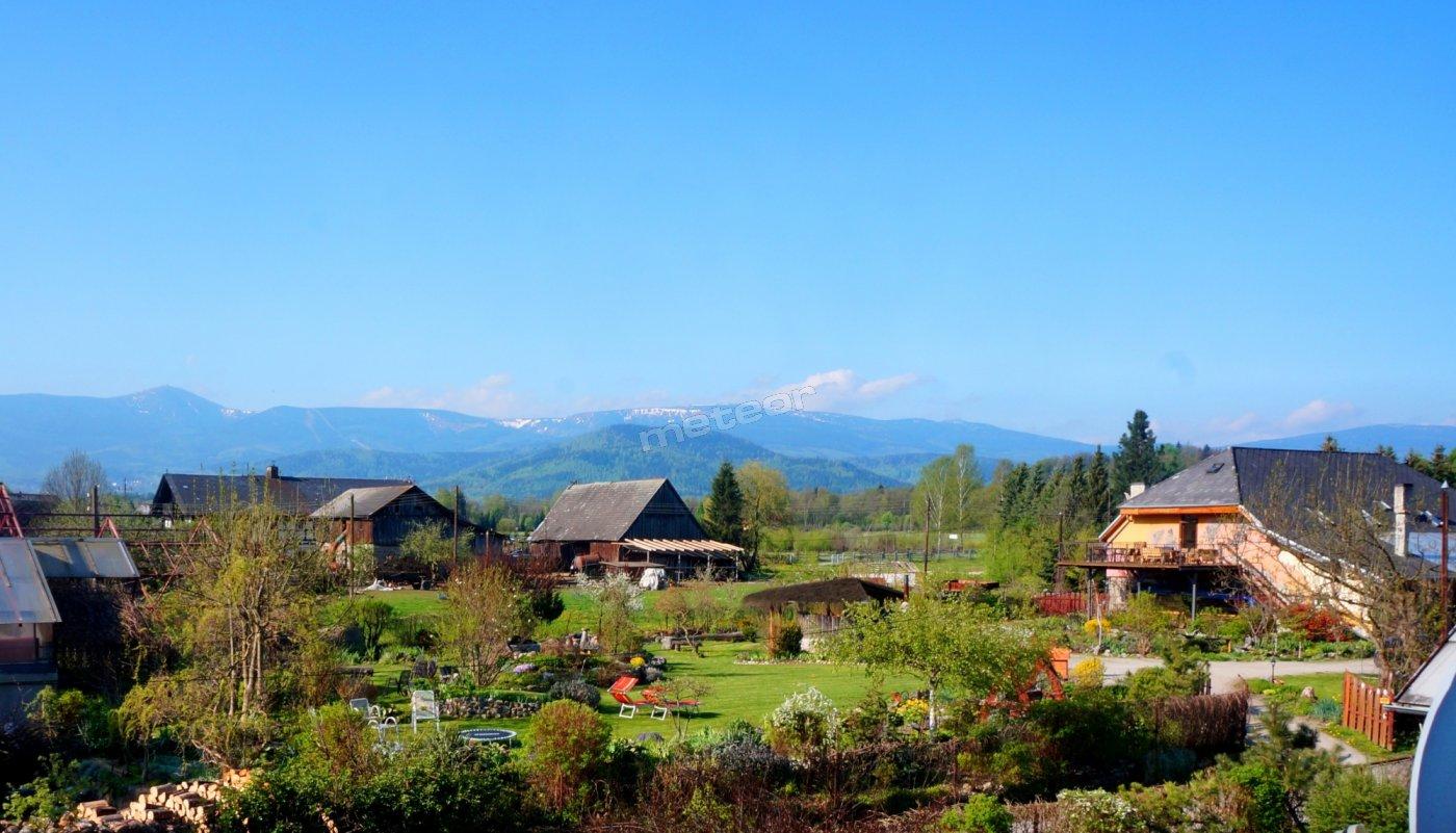 Agroturystyka Rajski Ogród - widok na góry