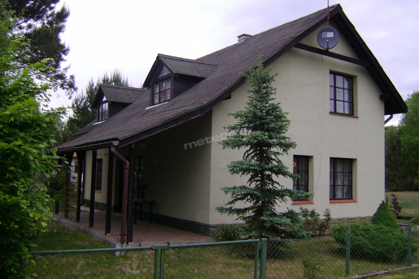 dom- widok na taras