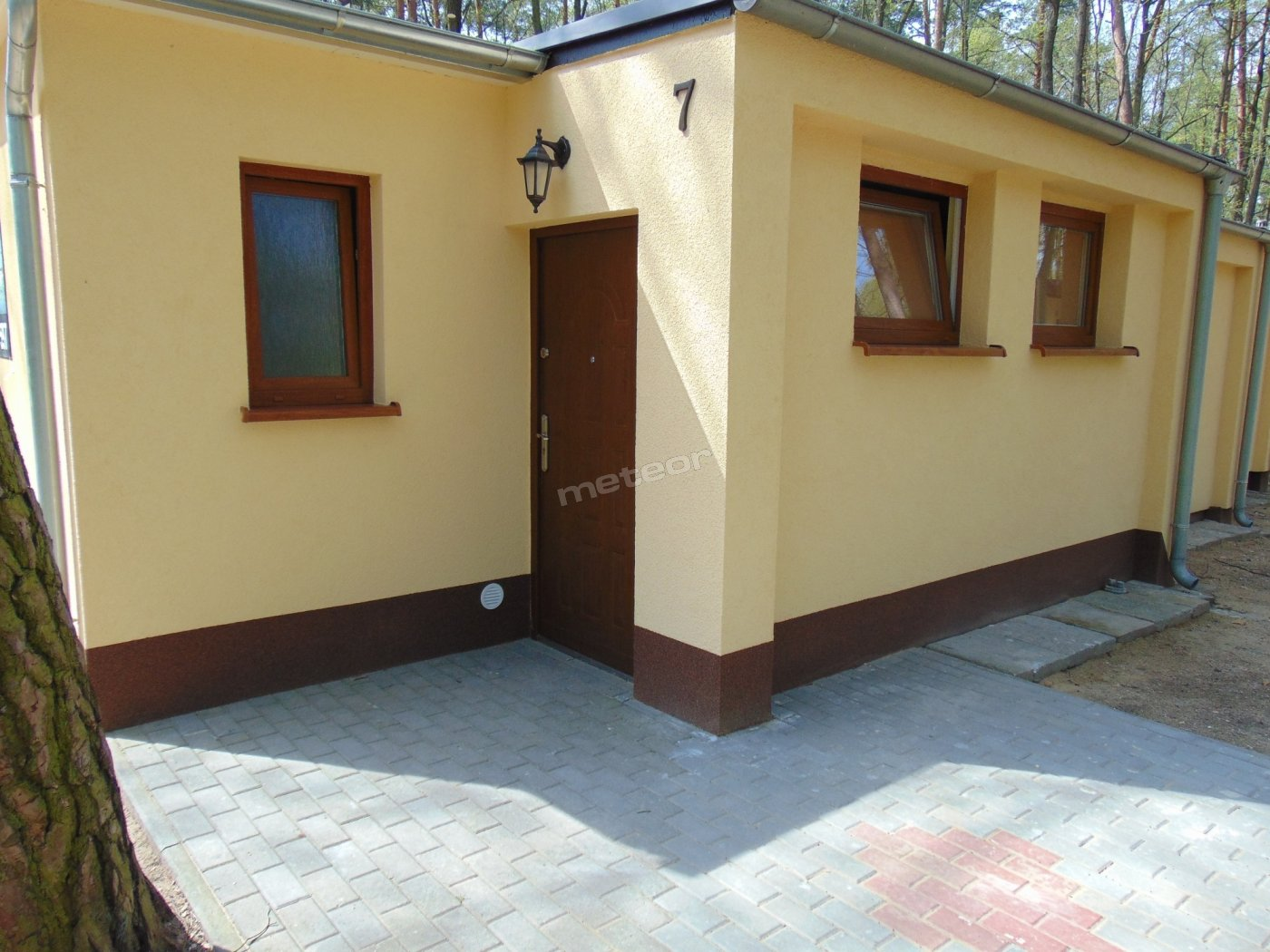 Front domku 2 osobowego