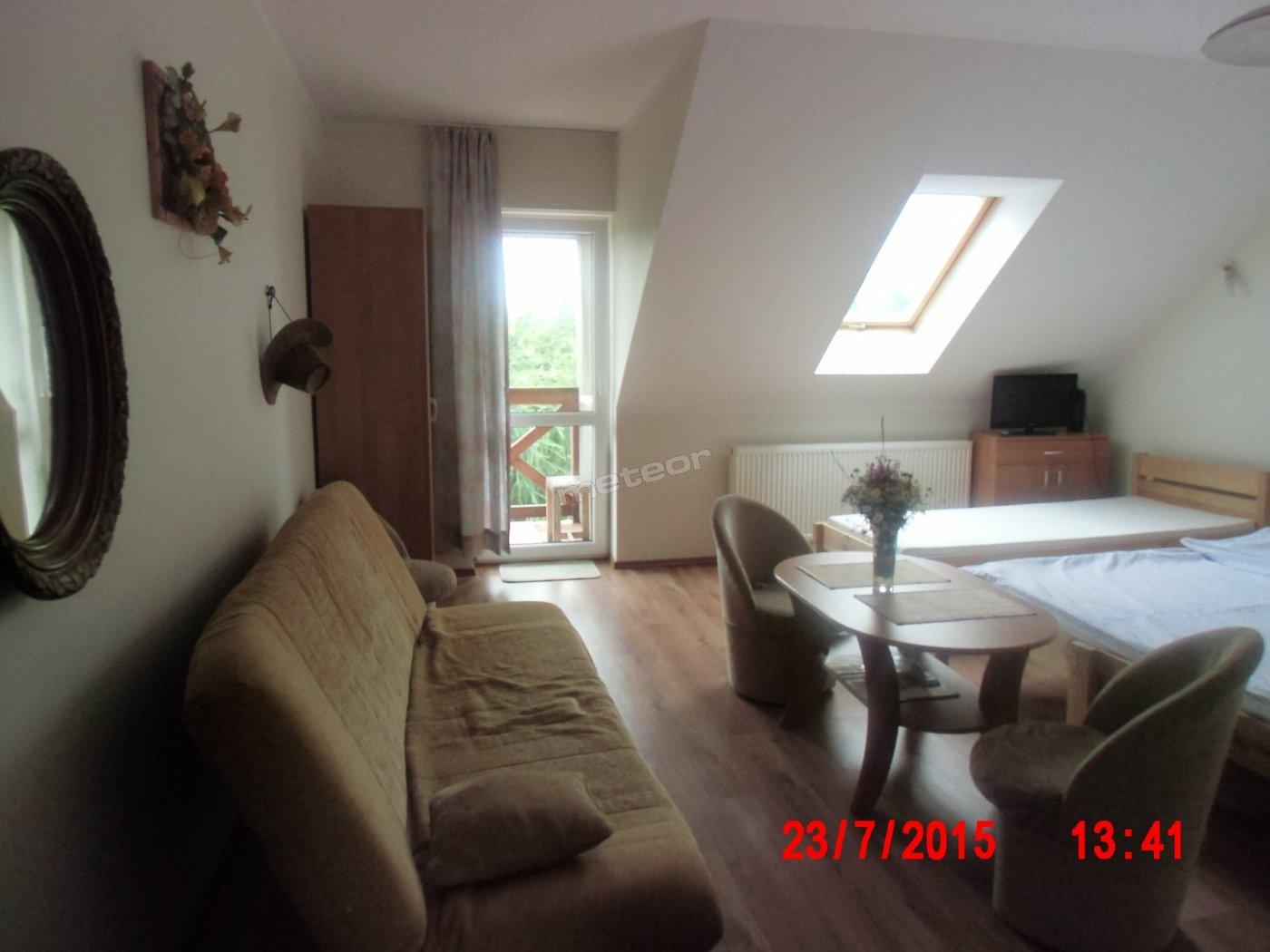 Pokój drugi  4-5 osobowy  balkon