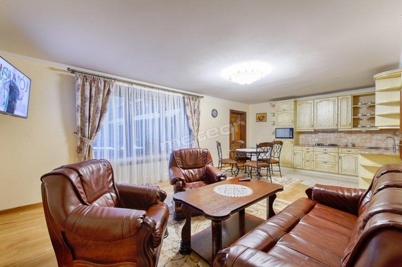 NOWOŚĆ! Salon & Kuchnia- Apartament 4-osobowy.