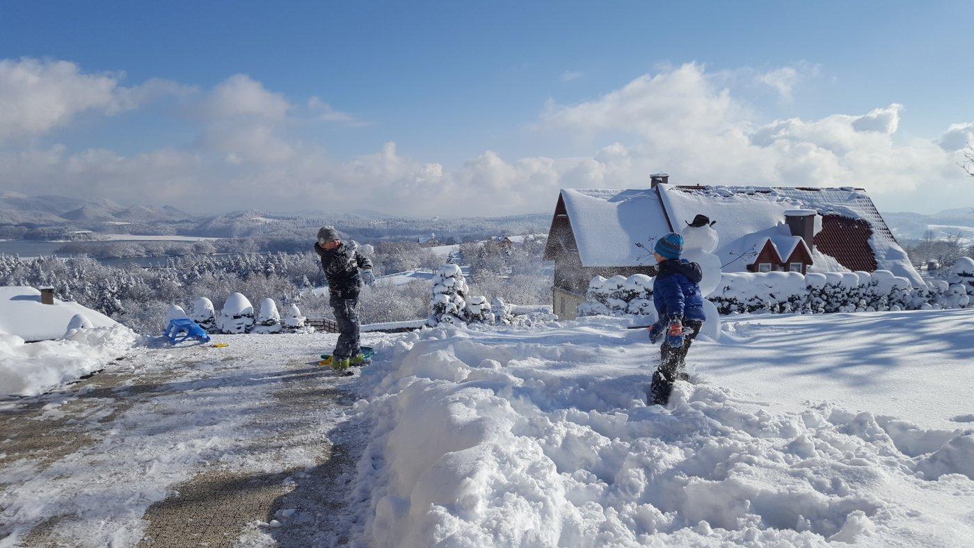 Noclegi Biały Bór Polańczyk-ferie zimowe.