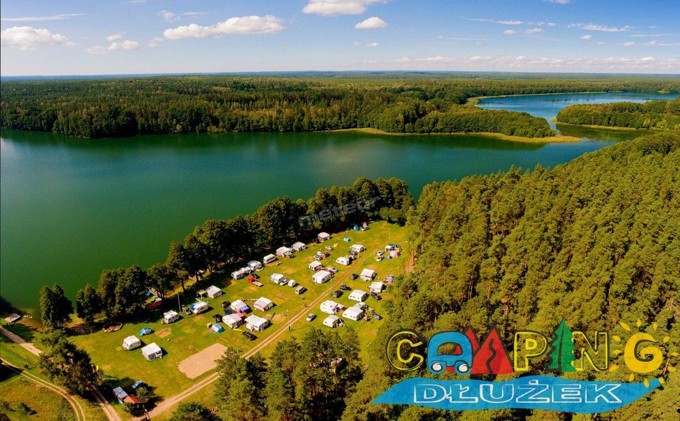 Camping pole namiotowe mazury