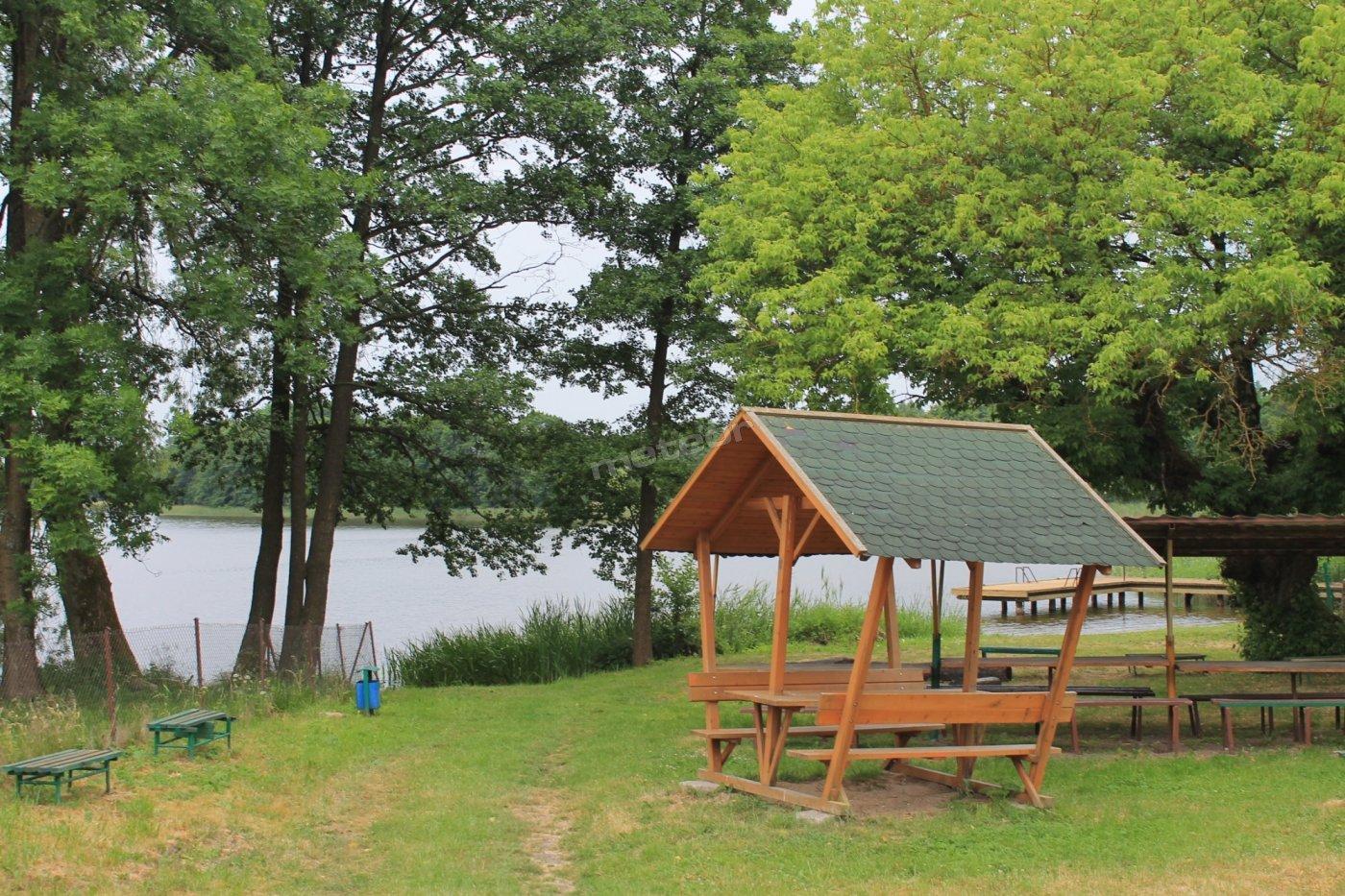 jezioro Zyndackie - plaża