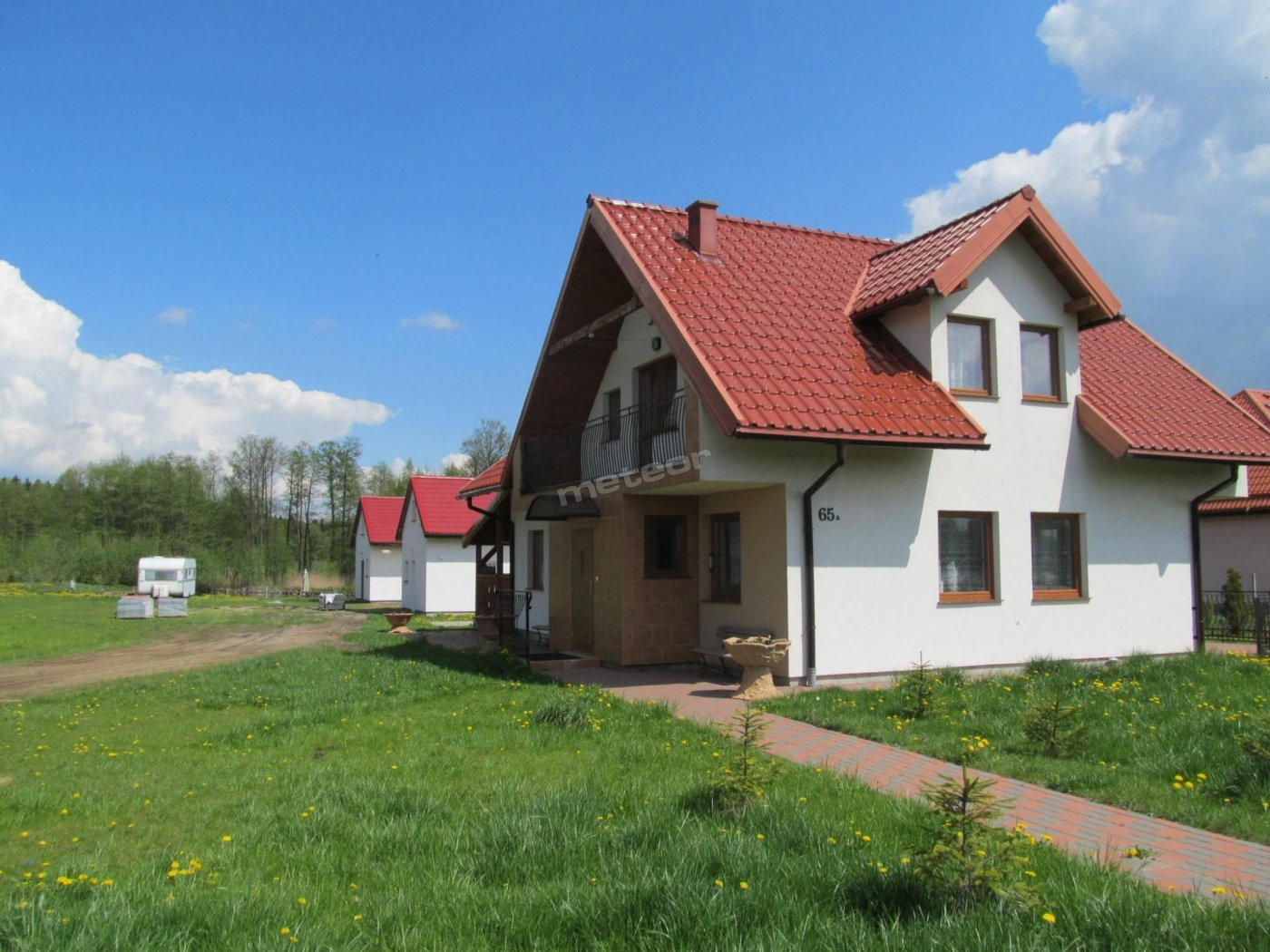 Duży, całoroczny dom
