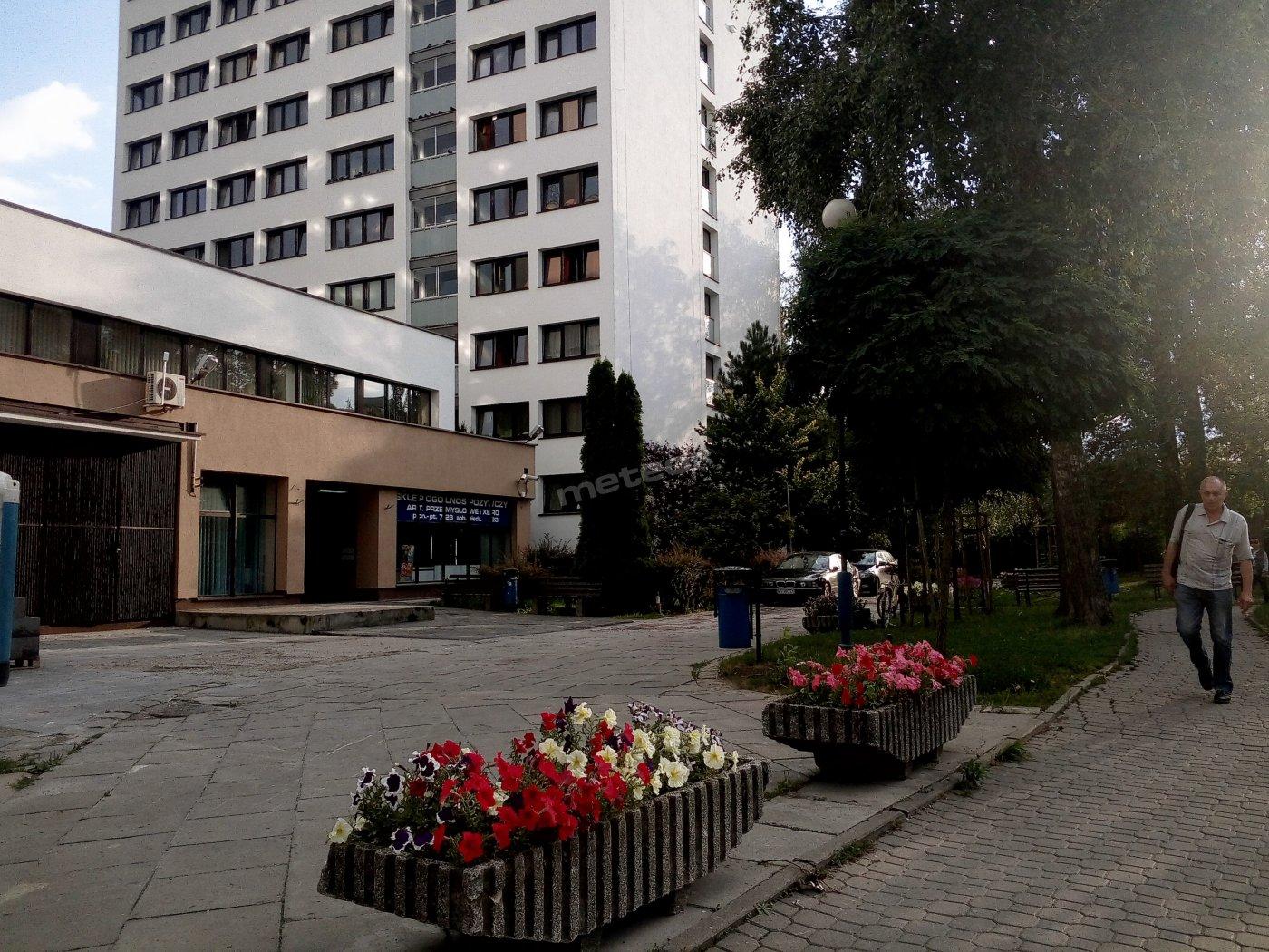 Wejście do Hostel Mokotów Warszawa