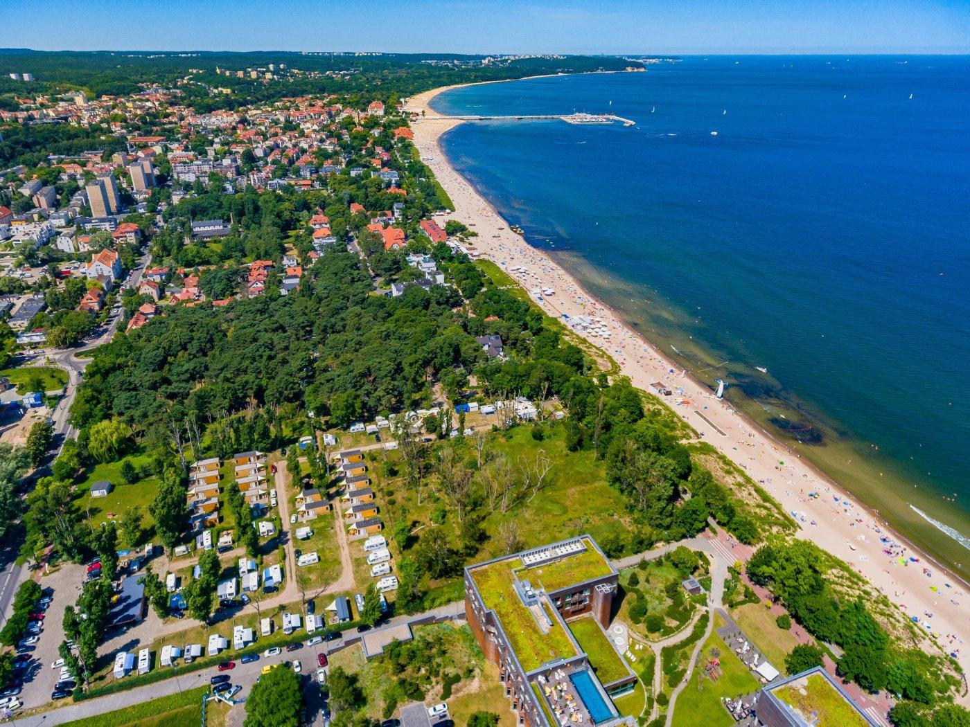 Ośrodek Sopot 34 zlokalizowany przy samej plaży