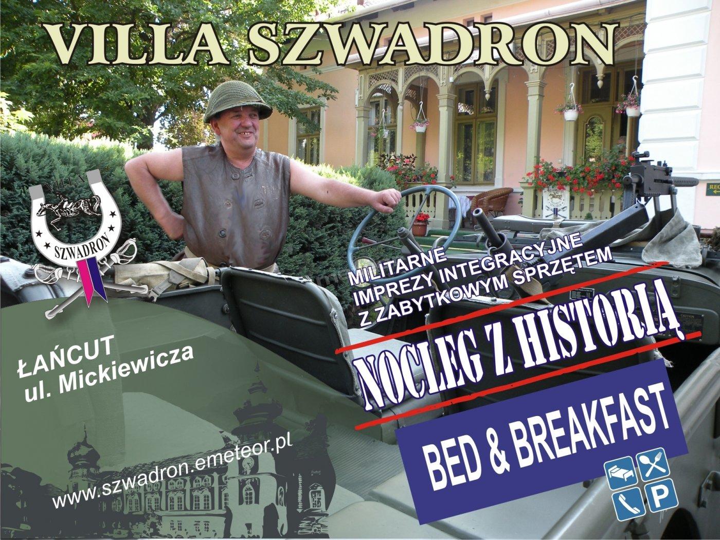 Accommodation Villa Szwadron