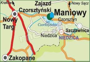 Motel - Restauracja Zajazd Czorsztyński