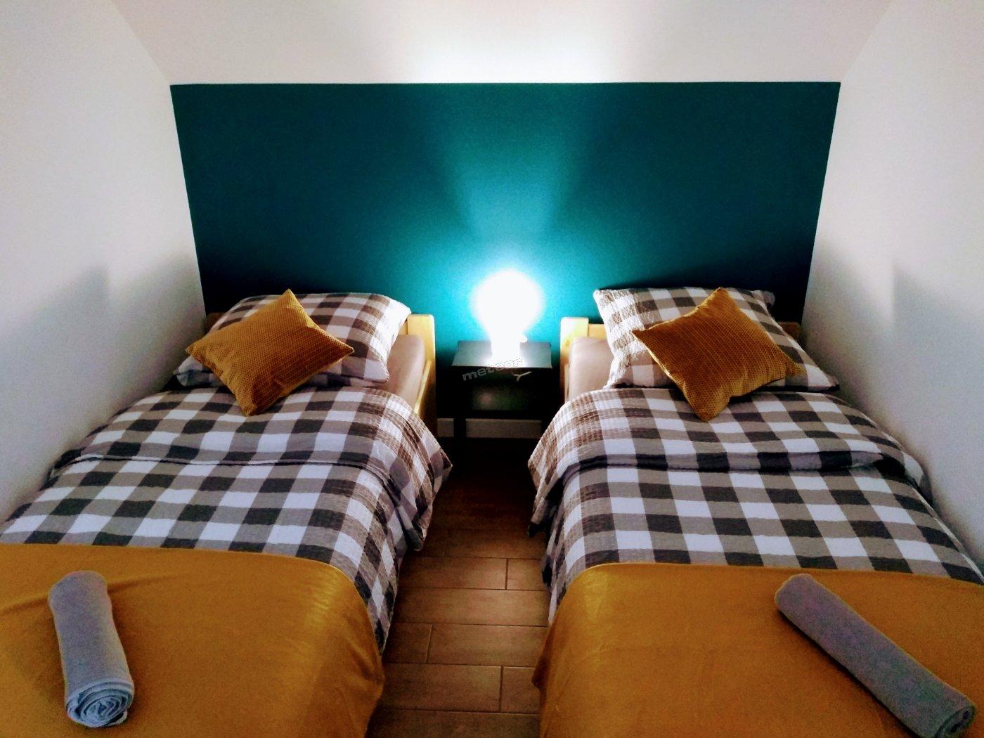 Apartament z dwoma sypialniami - sypialnia