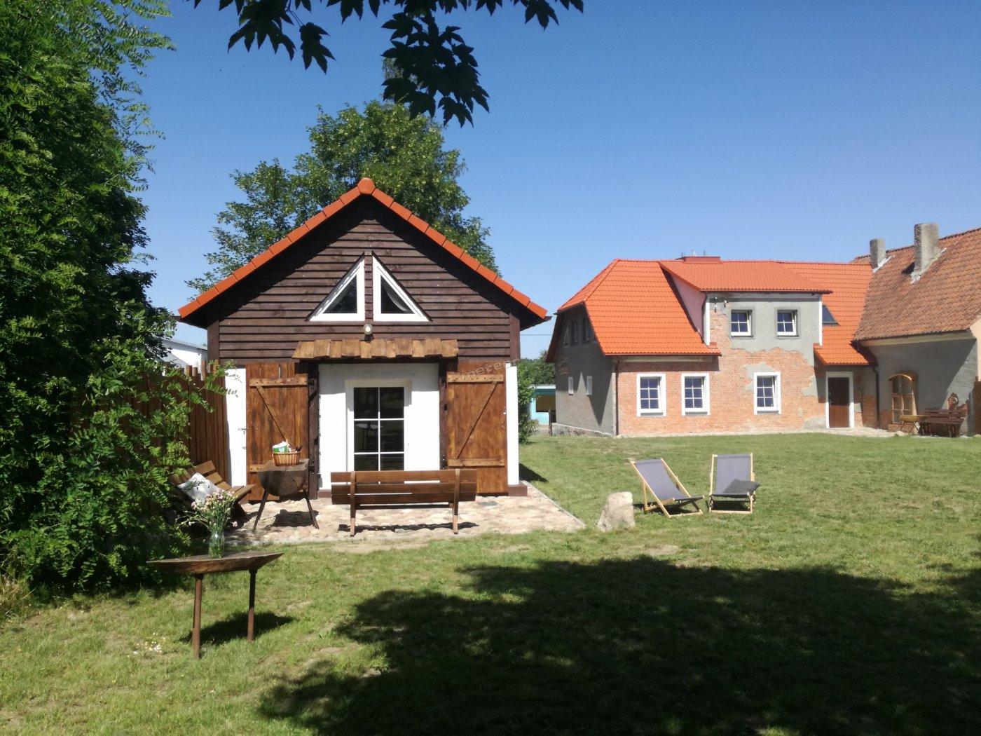domy położone są w taki sposób, by goście czuli się w nich swobodnie